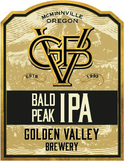 Golden Valley Brewery Bald Peak IPA
