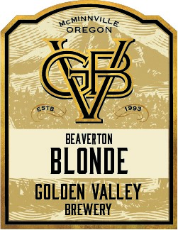 Golden Valley Brewery Beaverton Blonde