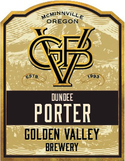 Golden Valley Brewery Dundee Porter