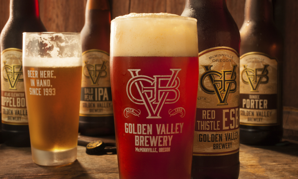 The Award-Winning Beers of Golden Valley Brewery