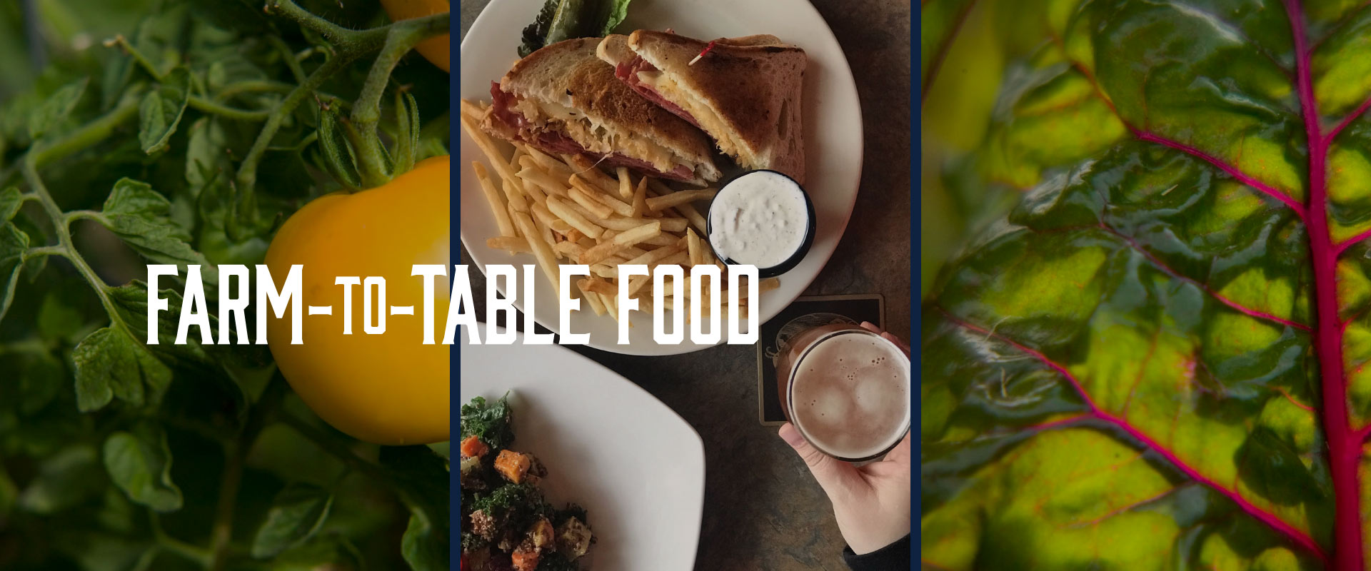 Farm-to-Table Food at Golden Valley Brewery & Restaurant
