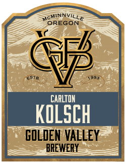 Golden Valley Brewery Carlton Kolsch