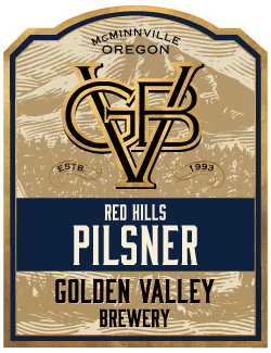 Golden Valley Brewery Red Hills Pilsner