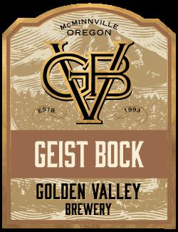 Golden Valley Brewery Geist Bock