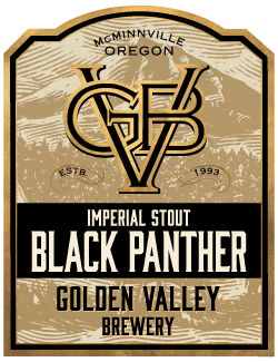 Golden Valley Brewery Imperial Stour Black Panther