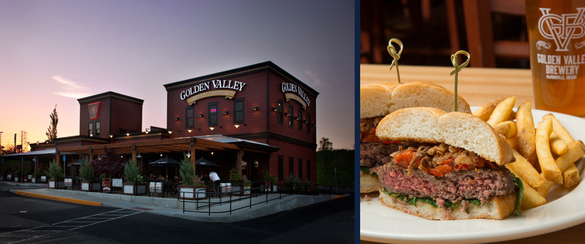 Golden Valley Brewery & Restaurant in Beaverton, Oregon